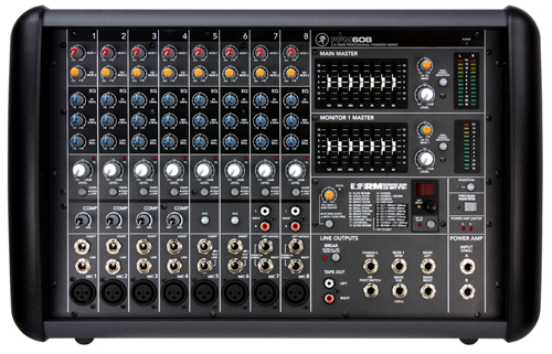 mackie PPM608 Power Mixer Sound System