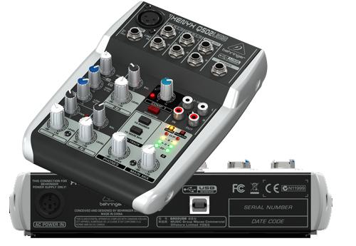 behringer BEHRINGER XENYX Q502USB Mixer Sound System