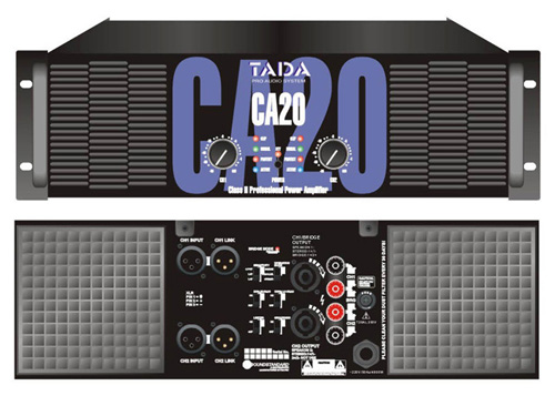 tada CA 20  Power Amplifier Sound System