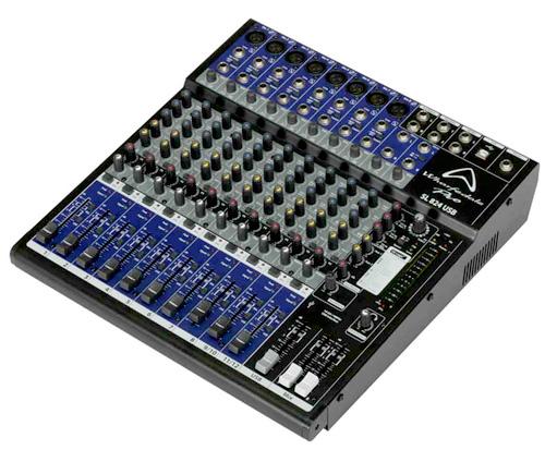 มิกเซอร์ SL824 USB WHARFE DALE PRO  WHARFE DALE PRO เครืองเสียง
